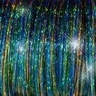 Gemengde-Tinsel-Peacock-Kleuren--10-stuks